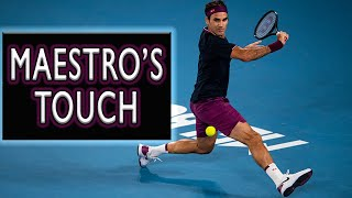 Roger Federer ● Best Touches, Drop Shots and Improvisationsᴴᴰ