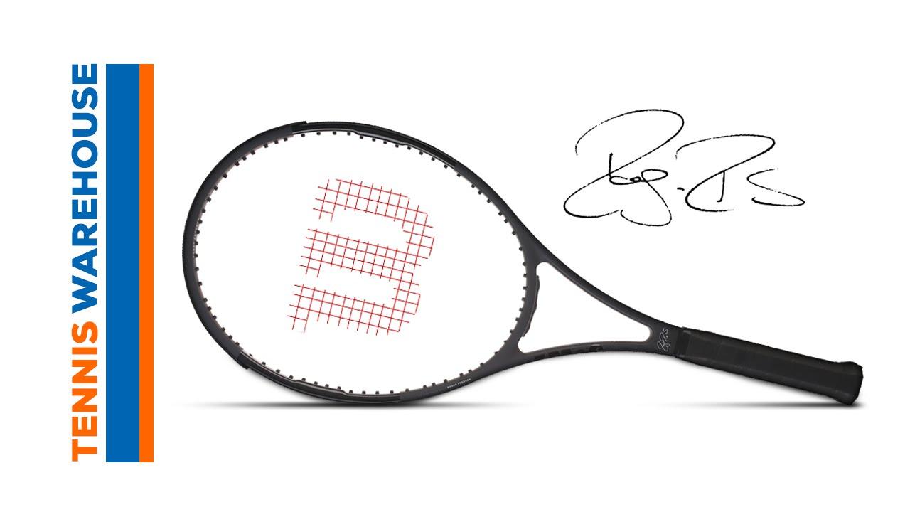 Wilson Pro Staff RF 97 Autograph (Roger Federer) Racquet Review. Tennis  Warehouse 27b44d9380dc8