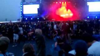 The Prodigy - Invaders must die (mit lustigem circle pit) live@RaR 2009