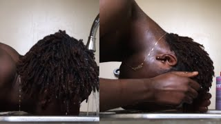 How To Properly Wash Short Dreads