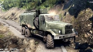 SPINTIRES 2014 - The Hill Map - Kraz Utility Truck Removing the 6th Cloacking