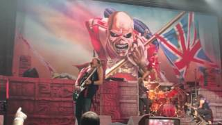 Iron Maiden, The Trooper, American Airlines Center, Dallas 6-23-2107