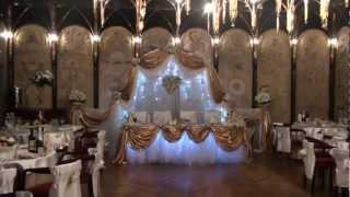 Украшение зала на свадьбу от MAGNATUS.BY +375 29 7212181