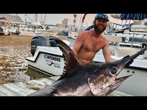 324 Lb Swordfish Caught Solo - Daytime Swordfishing - Key West Fl KWWM Ep.1