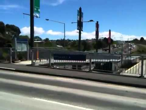 Sunnynook Road SH1 Overpass