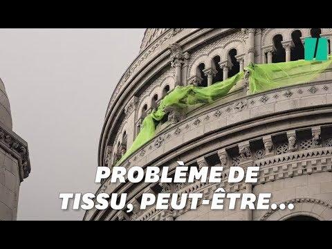 Acte XIX: à Montmartre, ces gilets jaunes se sont emmêlés dans leur banderole