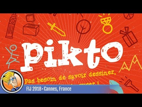 Pikto — game preview at FIJ 2018 in Cannes