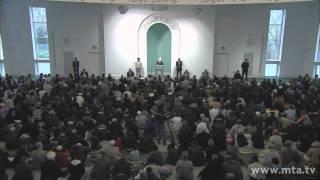 Freitagsansprache 23. Dezember 2011 - Islam Ahmadiyya