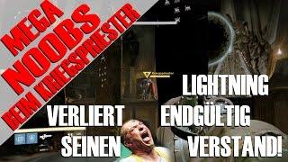 MEGA NOOBTEAM BEIM KRIEGSPRIESTER IM HARD RAID!!!11111 LIGHTNING RASTET AUS | Deutsch | HD
