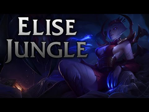 League of Legends | Blood Moon Elise Jungle - Full Game Commentary