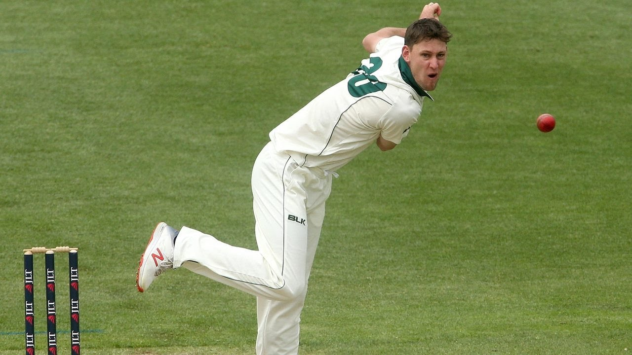 Spinner Webster adds seam bowling to his arsenal