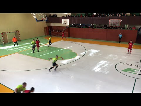 Futsal A Lyga 1 Turas: Akmene 1:5 FK Vytis Futsal (Įrašas)