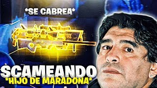 SCAMEO TO THE SON OF MARADONA AND GREAT LYATE! Fortnite Save the World