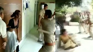 On Video, UP cops thrash transgenders at police station in Meerut | Oneindia News