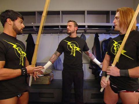 "Raw: Heath Slater and Justin Gabriel deny their ""new"" Nexus"