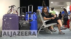 Thousands of Puerto Ricans flee to Florida
