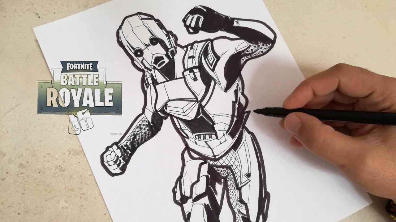 Dibujos Para Colorear De Fortnite: Imagenes De Deriva Fortnite Para Colorear Kylinfloor