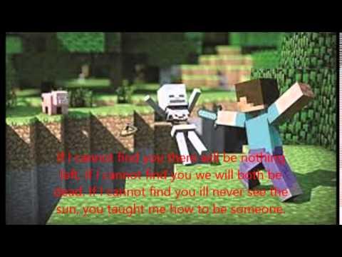 take me down minecraft lyrics
