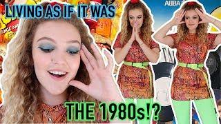 I LIVED AS IF IT WAS THE 1980s FOR 24H!! *and it was VeRy embarrassing*
