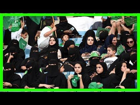 Photos: saudi arabia allows women into sports stadium for first time News Today