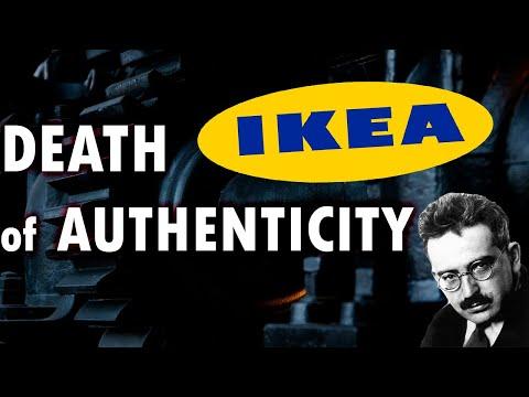 Walter Benjamin: IKEA & The Death of Authenticity   Sociology // Philosophy