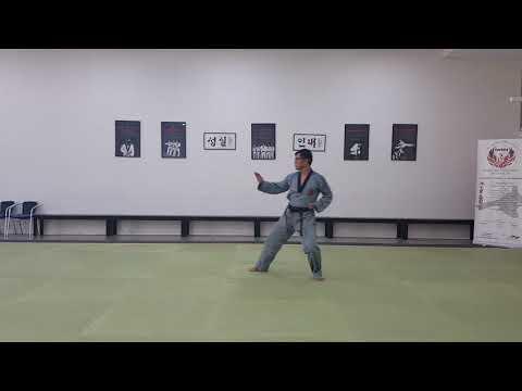 Phoenixtkd Form #3 (Taegeuk Sam Jang)