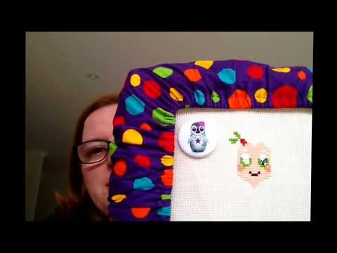 Flosstube #7.1 A WIP, a finish, stitchy style tag and a whole lotta haul!