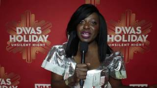 VH1 DIVAS HOLIDAY RED CARPET WITH MELISSA MUSHAKA