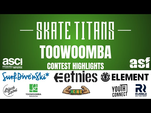 Round 1 Skate Titans Highlights - Toowoomba 18/19 Season