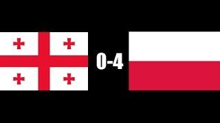 Gruzja 0-4 Polska [Bramki]