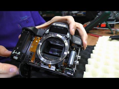 Выпадает в ошибку 20 / Err 20. Зеркальная фотокамера Canon 5D Mark II. РЕМОНТ