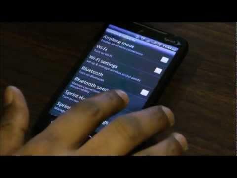 Free WiFi Tether In Sprint HTC EVO 4G