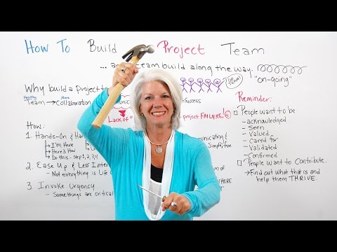 How To Build Project Team