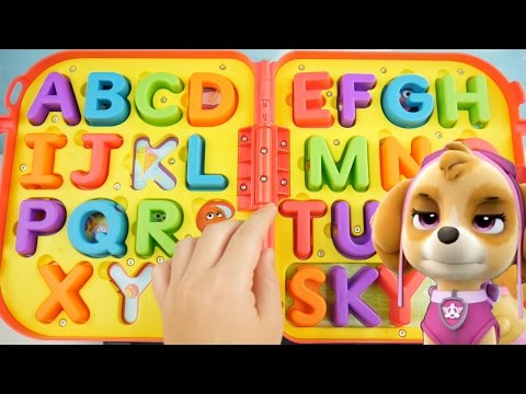 Thumbnail: Learn ABC Letters and Alphabet with Elmo On The Go Spelling Kids Playset Toddler Paw Patrol Learning