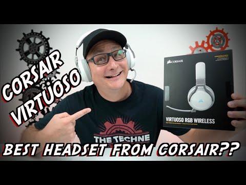 Corsair Virtuoso Wireless Gaming Headset DETAILED REVIEW