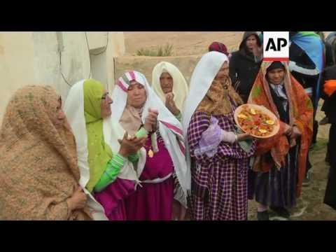 Berber village celebrates new year 2966