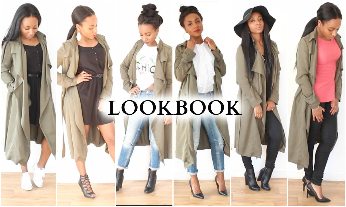 How I Wear My Long Khaki Jacket | LOOKBOOK - YouTube