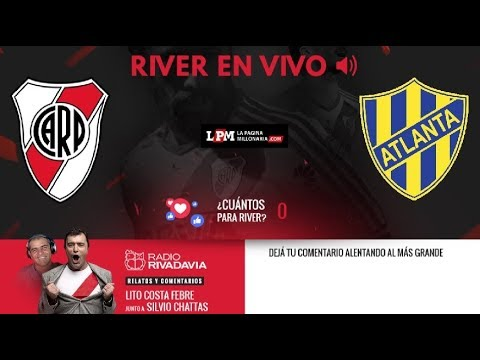 River Plate vs Atlanta EN VIVO - Copa Argentina