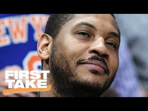 Will Cain Says 'No Doubt' Carmelo Anthony Sabotaged Phil Jackson | First Take | June 30, 2017