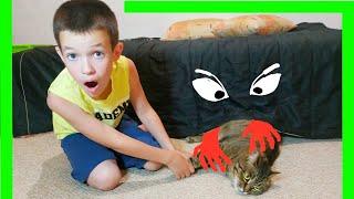 Тима и его монстр под кроватью