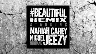 Mariah Carey Beautiful Remix Ft Miguel Jeezy