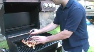 How to Grill-Roast a Chicken.flv