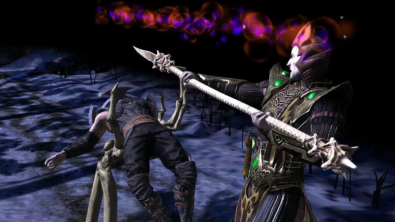 mortal kombat x mobile bone shaper shinnok challenge hd