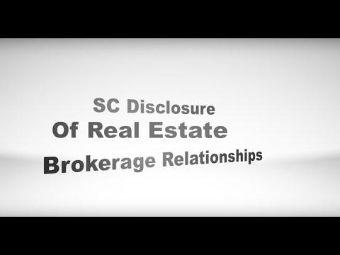 SC Disclosure Of Real Estate Brokerage Relationships