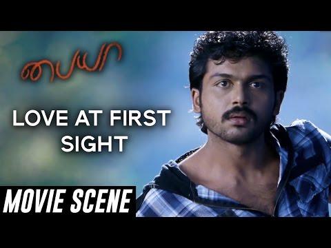 Paiyaa - Love at First Sight | Karthi, Tamannaah | Yuvan Shankar Raja | N Lingusamy