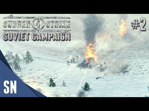 Battle #2: Battle of Moscow! - Sudden Strike 4 - Soviet Campaign Gameplay