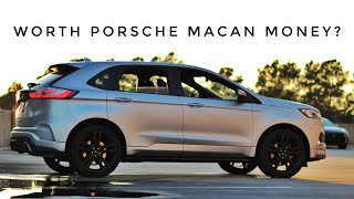 Here's why the Ford Edge ST costs as much as a Porsche Macan