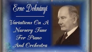 Dohnanyi - Variations on A Nursery Tune