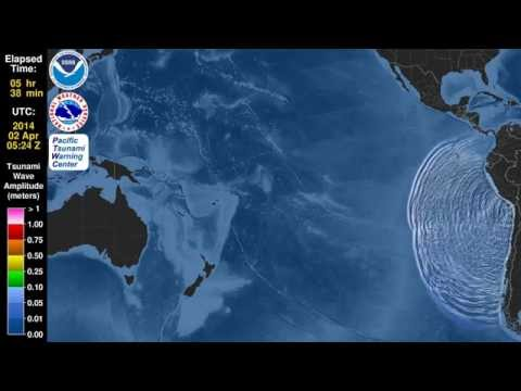 Terrifying Animation Shows How Chile's Tsunami Took Over the Entire Pacific Ocean