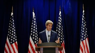 Kerry Discusses Iran Nuclear Deal